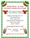 Christmas Movie Night To Benefit St. Jude Children's Hospital