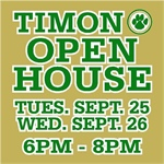 "Open House is first step in answering the question, ""Are you a Timon Man?"""